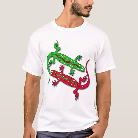 Dancing Gecko Lizards T-Shirt