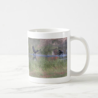 Dancing geese mug