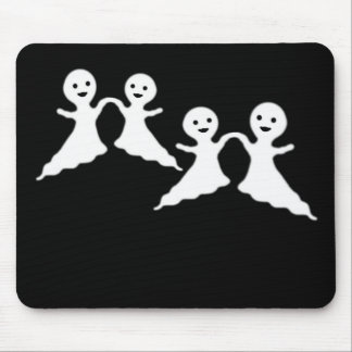 Dancing ghosts mouse pad