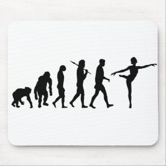 Dancing gifts for ballet and modern dancers mouse mat