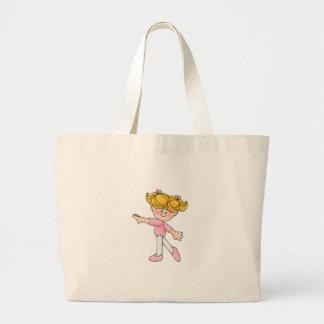 Dancing Girl Tote Bag