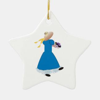 Dancing Girl Christmas Ornament