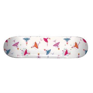 Dancing girls custom skateboard