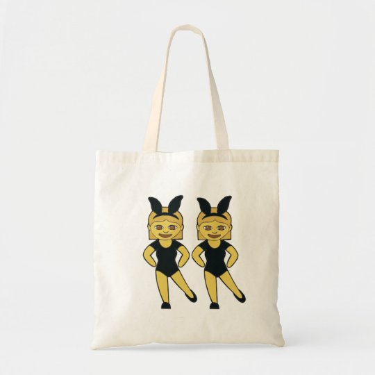 Dancing Girls Emoji Tote
