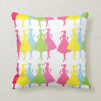 Dancing Girls Pillow