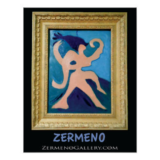 """""""Dancing Goddess"""" known as """"The Lovers"""" by Zermeno Posters"""
