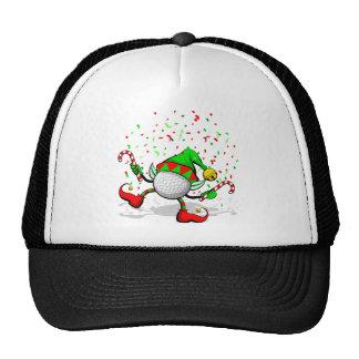 Dancing Golf Christmas Elf Hat
