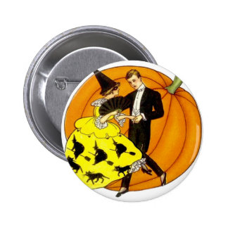 Dancing Halloween Couple 6 Cm Round Badge