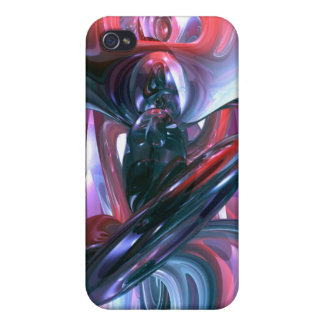 Dancing Hallucination Abstract  Cases For iPhone 4