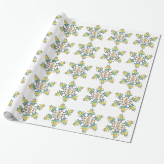 Dancing Hedgehogs Wrapping Paper