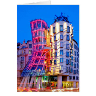 Dancing House Card