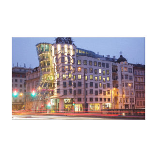 Dancing House Prague souvenir photo Canvas Print