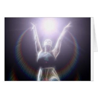 Dancing in Light Card