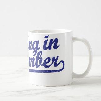 Dancing in September in blue Coffee Mug