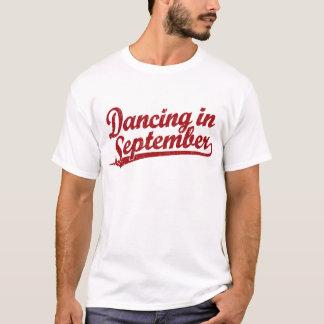 Dancing in September in red T-Shirt