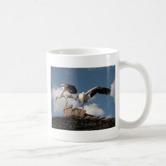 Dancing in the Clouds Basic White Mug