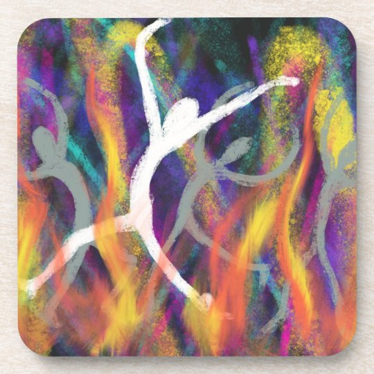 Dancing in the Furnace Christian Modern Art Design