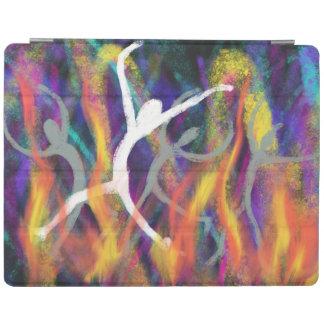 Dancing in the Furnace Christian Modern Art Design iPad Cover