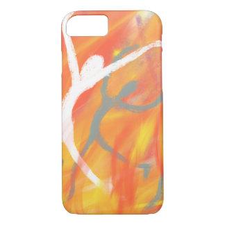 Dancing in the Furnace Christian Modern Art Design iPhone 8/7 Case
