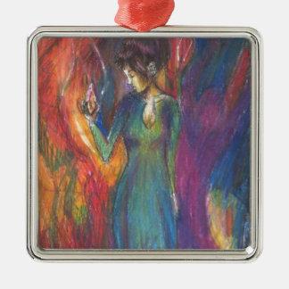 Dancing In the Light of Heartbreak Christmas Ornament