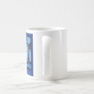 """""""Dancing in the Stream"""" by Zermeno Basic White Mug"""