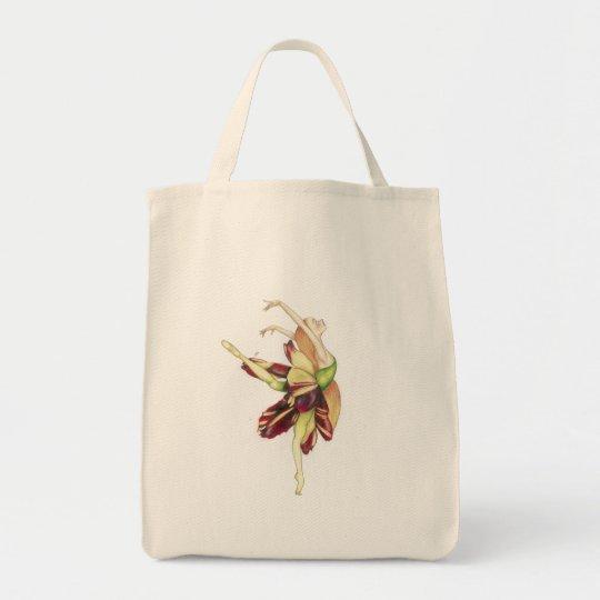 Dancing into light tote bag