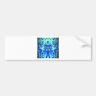 Dancing Iris Kaleidoscope Designs Bumper Stickers