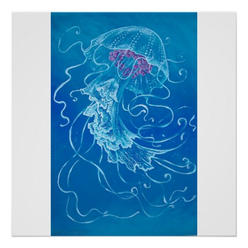 DANCING JELLYFISH POSTER