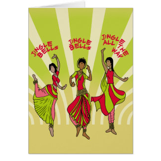 Dancing Jingle Bells Card