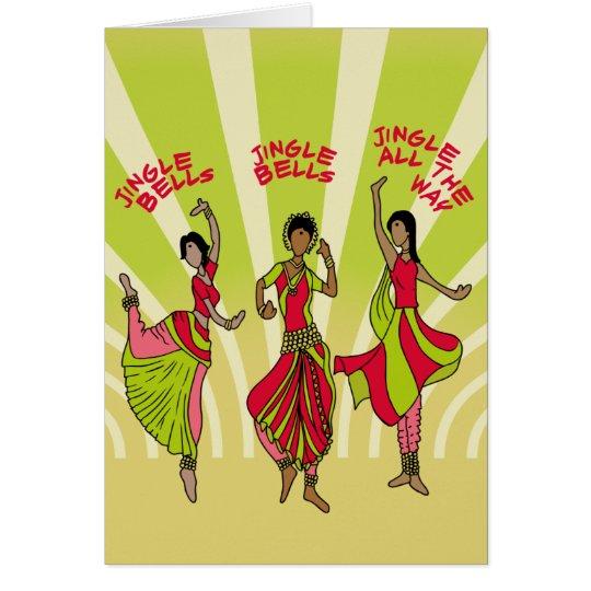 Dancing Jingle Bells Card