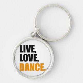 dancing key chain