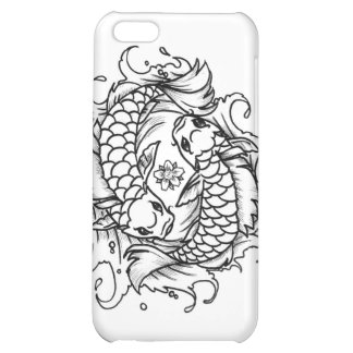 Dancing Koi Cover For iPhone 5C