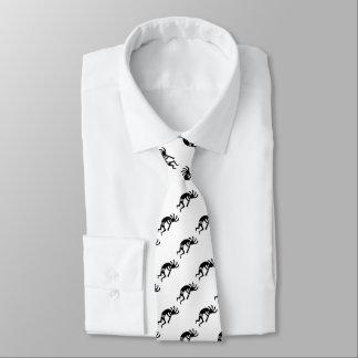 Dancing Kokopelli Southwestern Design Tie