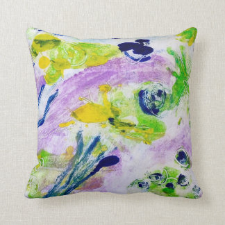 Dancing landscape cushion