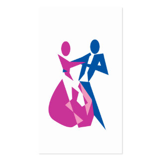 Dancing lessons pack of standard business cards