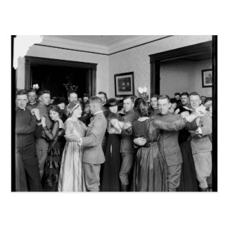 Dancing like it s 1910 post card