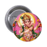 Dancing Lord Ganesha Buttons