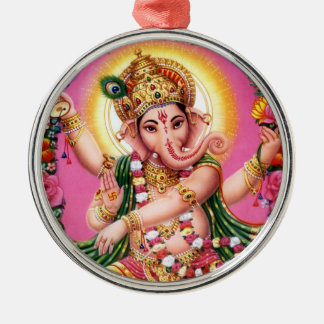 Dancing Lord Ganesha Christmas Ornament