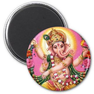 Dancing Lord Ganesha Fridge Magnets