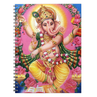 Dancing Lord Ganesha Notebooks