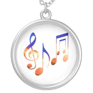 Dancing Music Symbols Pendants