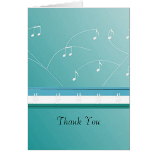 Dancing Musical Notes Thank You