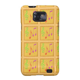 Dancing Musical Symbols Galaxy SII Cover