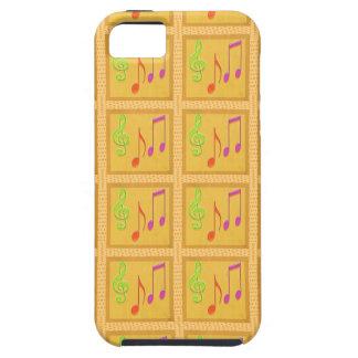 Dancing Musical Symbols iPhone 5 Covers