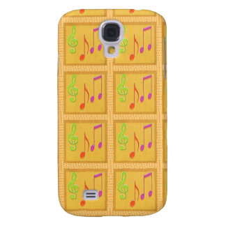 Dancing Musical Symbols HTC Vivid Cover