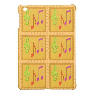 Dancing Musical Symbols iPad Mini Cases