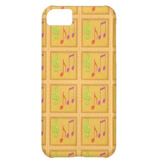 Dancing Musical Symbols iPhone 5C Case