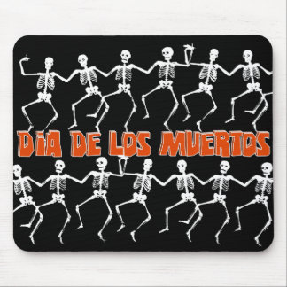 Dancing on Day of the Dead Mouse Mat
