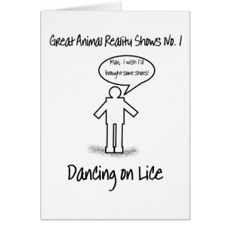 Dancing on Lice card