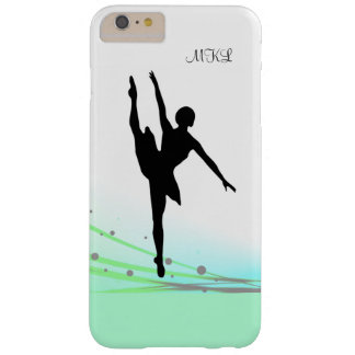 Dancing on Light Ballet Ballerina in Aqua Barely There iPhone 6 Plus Case